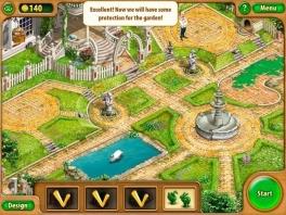 Het uiteindelijke doel van het spel is om het geld te gebruiken om de tuin te herstellen, stukje voor stukje.