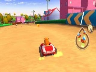 Heeft Garfield wel een rijbewijs?