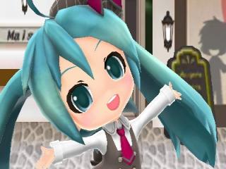 Hatsune Miku: Project Mirai DX: Afbeelding met speelbare characters