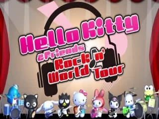Hello Kitty & Friends: Rock N' World Tour: Afbeelding met speelbare characters