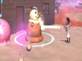 Maak een sneeuwpopijsje! Smullen..