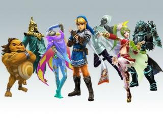 Kies uit verschillende personages uit het universum van <a href = https://www.mario3ds.nl/Nintendo-3DS-spel.php?t=The_Legend_of_Zelda target = _blank>The Legend of Zelda</a>.