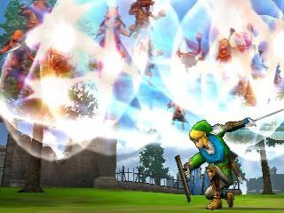 Alle DLC uit de Wii U-versie van Hyrule Warriors zit standaard in deze Nintendo 3DS-versie.