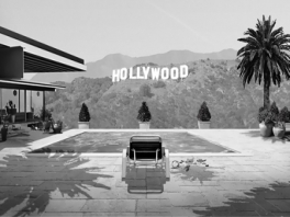 James Noir's Hollywood Crimes 3D een interactieve 3D-film met een zwartwitsfeer.