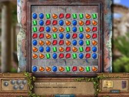 Klassieke Bejeweld-achtige gameplay op de Jewel Boards.