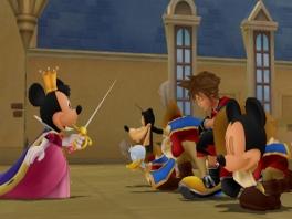 ''Hierbij kroon ik jullie...''. Zou ze dat wel doen, die lomperiken tot musketiers benoemen?
