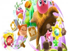 In dit deluxe avontuur ga je op pad met de bekende roze stuiterbal: Kirby!