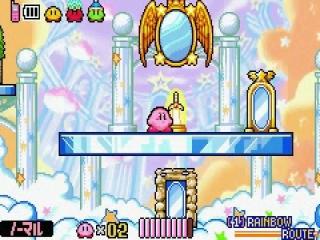 Dit spel legt een grote nadruk op hoe belangrijk spiegels zijn, vandaar ook de naam Kirby & the Amazing Mirror.