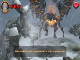 Ook scènes die in de film worden overgeslagen, zoals het gevecht met de Balrog, komen voor.