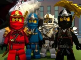 Deze ninja's mogen dan speelgoed zijn, maar ze zijn erg gevaarlijk!