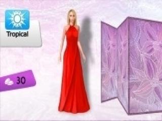 Die jurk staat haar perfect!