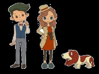 Dit zijn Katrielle, Monty en Sherl, de hoofdrolspelers!