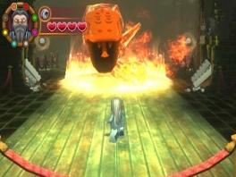 Ik kan me niet herinneren dat deze slang in de films vuur spuwde...