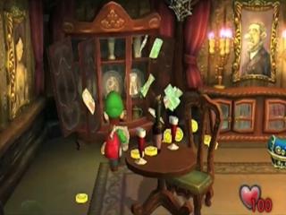 Luigis Mansion: Screenshot