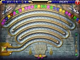 Speel als klein, gevleugeld standbeeldje alle gekleurde steentjes weg!