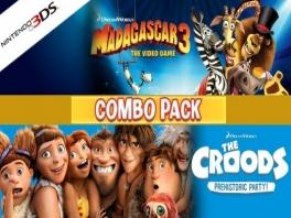 Speel zowel met de Madagascar-3-crew als met <a href = https://www.mario3ds.nl/Nintendo-3DS-spel.php?t=The_Croods_Prehistoric_Party>de Croods</a> familie!