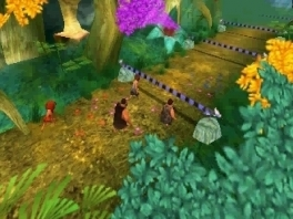 Minigames kunnen niet ontbreken in een Croods-party!