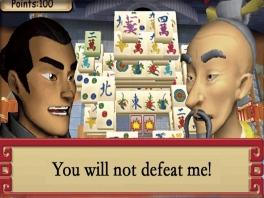 Speel als een krijger die het rijk van zijn keizer probeert uit te breiden... door Mahjong te spelen.