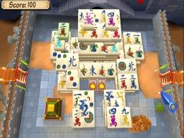 Hebben ze nou serieus een heel fort gebouwd, puur en alleen om Mahjong in te spelen?