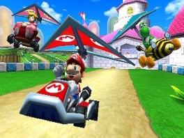 MK7 zit vol met personages, waaronder Mario, Peach, Yoshi en enkele nieuwkomers.