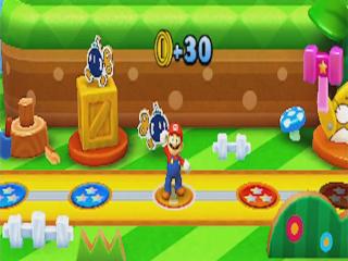 Speel minigames met Mario en krijg muntjes!