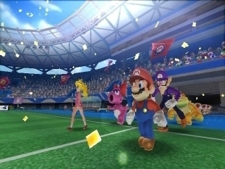 Mario Sports Superstars amiibo Cards: Screenshot