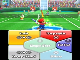Mario met een Power-Shot!