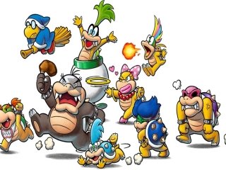 afbeeldingen voor Mario & Luigi: Bowser's Inside Story + Bowser Jr.'s Journey
