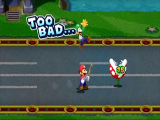 Beter je Kart meegenomen Mario...