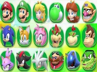 Een zeer ruime keuze aan personages, zodat er voor iedereen iets tussen zit!