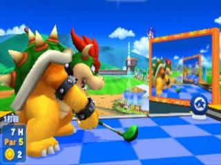 De sport golf is exclusief voor de 3DS en dus niet in de Wii U-versie te vinden.