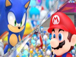 Er zijn weer veel sporters, verdeeld in Team Mario en Team Sonic.