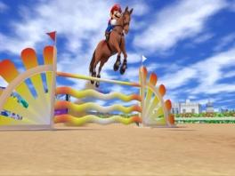 Goed zeg! Mario kan nu echt alles, zelfs paardrijden!