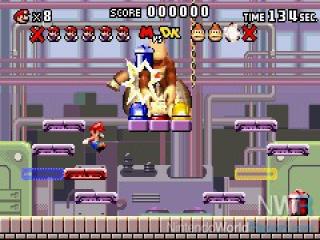 Natuurlijk kunnen boss fights met <a href = https://www.mario3ds.nl/Nintendo-3DS-spel.php?t=Donkey_Kong target = _blank>Donkey Kong</a> niet ontbreken.