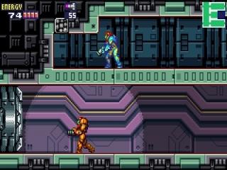 De X-parasiet heeft de vorm genomen van Samus. Vecht tegen een sterkere vorm van jezelf!