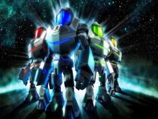 Metroid Prime: Federation Force: Afbeelding met speelbare characters