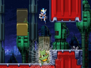 Mighty Switch Force: Screenshot