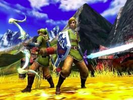 In het spel zitten leuke kostuums verborgen, bijvoorbeeld dit Link-kostuum =D
