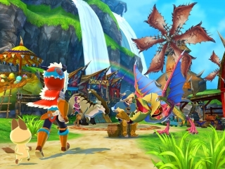 afbeeldingen voor Monster Hunter Stories