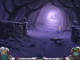 Hee, zullen we het donkere, paars gekleurde, lichtelijk gloeiende bos in  gaan? Dat wordt vast leuk!
