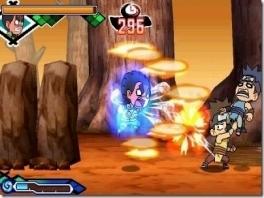 Deze Naruto een 2D actie platform game. Coole 2D gevechten met flitsende animaties!