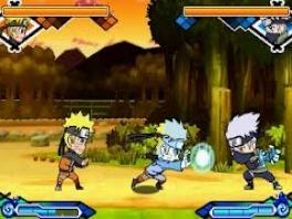 Vecht tegen bekende tegenstanders van de tv serie, zoals Kakashi.