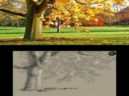 Echte kunstenaars kunnen foto's van de buitenwereld maken en die proberen te tekenen. Prachtig, toch?