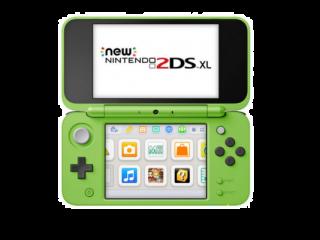 New Nintendo 2DS XL Minecraft Creeper Edition: Afbeelding met speelbare characters
