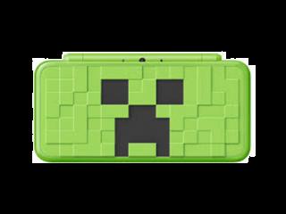 afbeeldingen voor New Nintendo 2DS XL Minecraft Creeper Edition