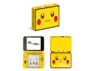 Een speciale Pikachu-uitvoering van de <a href = https://www.mario3ds.nl/Nintendo-3DS-spel.php?t=New_Nintendo_2DS_XL target = _blank>New Nintendo 2DS XL</a>.