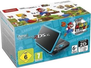 Krijg deze prachtig blauw zwarte <a href = https://www.mario3ds.nl/Nintendo-3DS-spel.php?t=New_Nintendo_2DS_XL target = _blank>New Nintendo 2DS XL</a> met <a href = https://www.mario3ds.nl/Nintendo-3DS-spel.php?t=Super_Mario_3D_Land target = _blank>Super Mario 3D Land</a>!