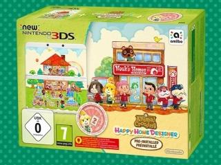 Het spel <a href = https://www.mario3ds.nl/Nintendo-3DS-spel.php?t=Animal_Crossing_Happy_Home_Designer target = _blank>Animal Crossing: Happy Home Designer</a> staat voorgeïnstalleerd op de 3DS.