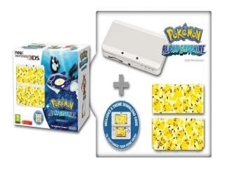 New Nintendo 3DS Pokemon Alpha Sapphire Limited Edition: Screenshot