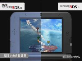 Handig of niet, het 3D-scherm van de <a href = https://www.mario3ds.nl/Nintendo-3DS-spel.php?t=New_Nintendo_3DS_XL target = _blank>New 3DS XL</a> past zich aan aan de omgeving.